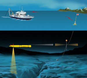 Micromodems in the Field - Buoy to Vehicle